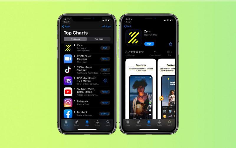 """""""Bản nhái"""" TikTok lên số một App Store nhờ trả tiền người dùng xem video"""