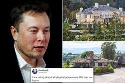 Elon Musk rao bán 2 dinh thự sau tuyên bố bán phần lớn tài sản