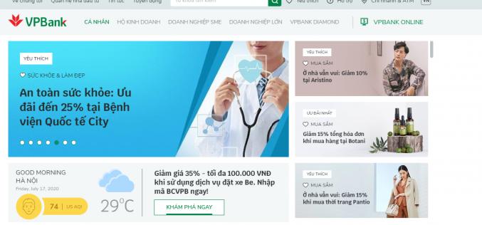 """Hé mở những """"bí mật"""" về công nghệ tại website mới của VPBank"""