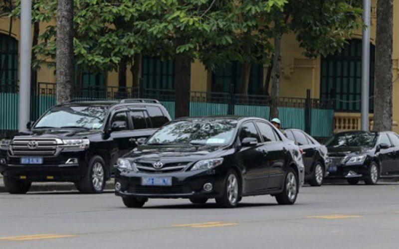 Nghệ An thanh lý, thu hồi 138 xe công tác chung
