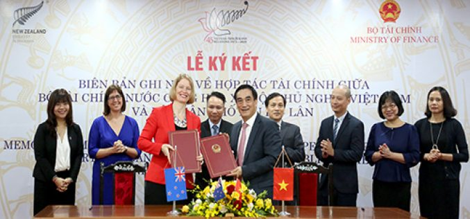 Việt Nam và Niu Di-Lân tăng cường hợp tác tài chính