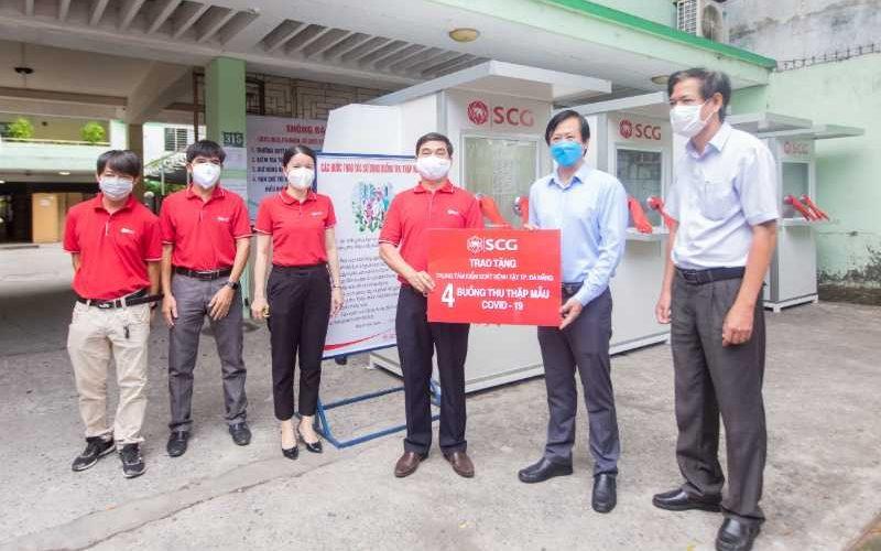 SCG Việt Nam trao tặng 4 phòng áp lực dương kháng khuẩn di động cho CDC Đà Nẵng