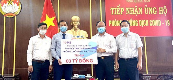 MB đồng hành cùng tỉnh Quảng Nam chống dịch Covid-19