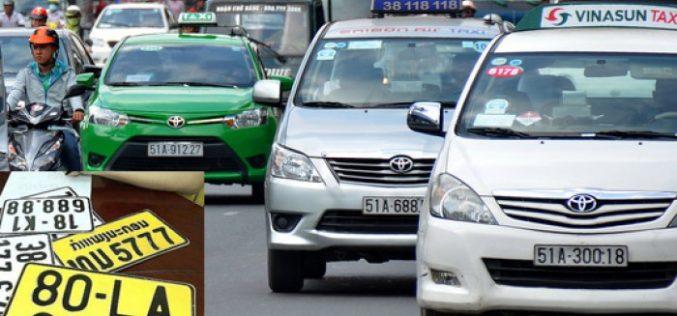 Từ 1/8, xe kinh doanh vận tải phải đổi sang biển số màu vàng