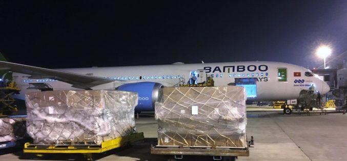 Bamboo Airways đẩy mạnh chở hàng hóa giá trị lớn trên tuyến Việt Nam – Hàn Quốc