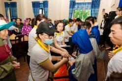 Công đoàn BAC A BANK cứu trợ người dân vùng lũ