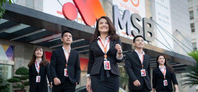 MSB chốt danh sách mua cổ phiếu quỹ, giá 11.500 đồng/cổ phiếu