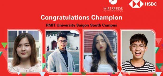 Đại học RMIT trở thành quán quân cuộc thi giải quyết tình huống kinh doanh HSBC