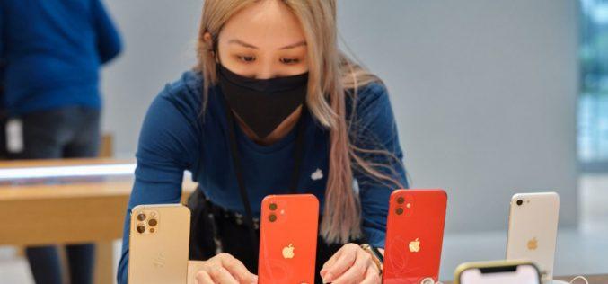 Apple lãi kỷ lục nhờ doanh số iPhone