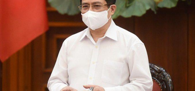 Thủ tướng chỉ đạo thành lập 7 tổ công tác đặc biệt hỗ trợ TP.HCM chống dịch