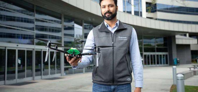 Qualcomm giới thiệu nền tảng Drone được hỗ trợ AI và 5G đầu tiên trên thế giới