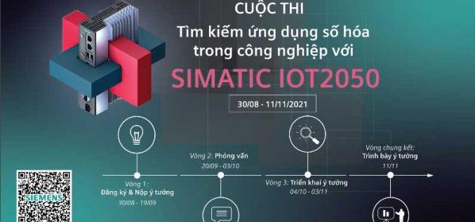 """Siemens khởi động Cuộc thi """"Tìm kiếm ứng dụng số hóa trong công nghiệp với SIMATIC IOT2050"""""""