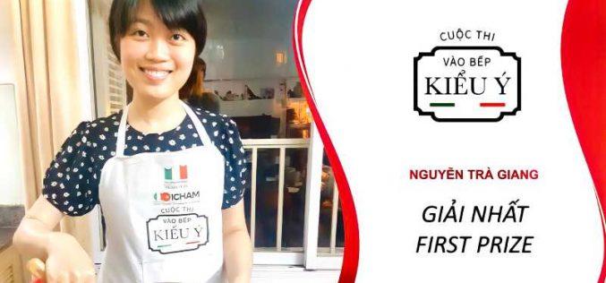 """Cuộc thi """"Vào bếp kiểu Ý""""công bố kết quả vòng chung kết"""