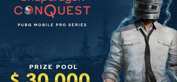 Qualcomm Technologies giới thiệu giải đấu Snapdragon Conquest™ PUBG Mobile Pro Series tại Indonesia và Việt Nam